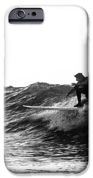 Longboard iPhone Case by Rick Berk