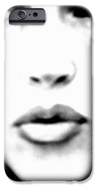 Lips iPhone Cases - Looker iPhone Case by Sonny Meyers