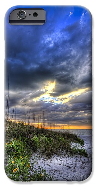 Stormy Weather iPhone Cases - Looking For You iPhone Case by Marvin Spates