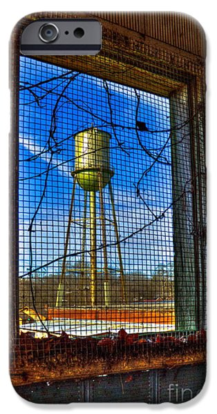 Hdr Look iPhone Cases - Looking Inside Out Mary Leila Cotton Mill iPhone Case by Reid Callaway