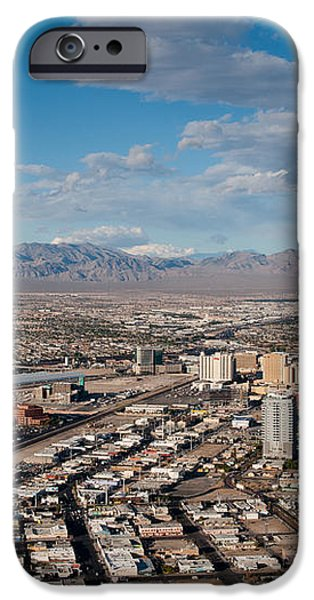 Looking over Downtown iPhone Case by Andy Smy