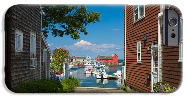 Recently Sold -  - Maine iPhone Cases - Looking Rockport iPhone Case by Emmanuel Panagiotakis