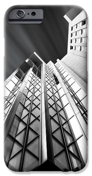Built Structure iPhone Cases - Looking Up iPhone Case by Stefano Senise
