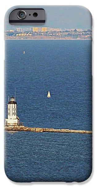 Los Angeles Harbor Light - Angel's Gate - California iPhone Case by Christine Till
