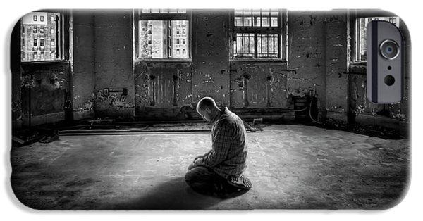 Drama iPhone Cases - Losing My Religion iPhone Case by Evelina Kremsdorf