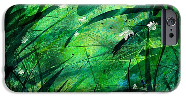 Nature Divine iPhone Cases - Lost in Paradise iPhone Case by Rachel Christine Nowicki