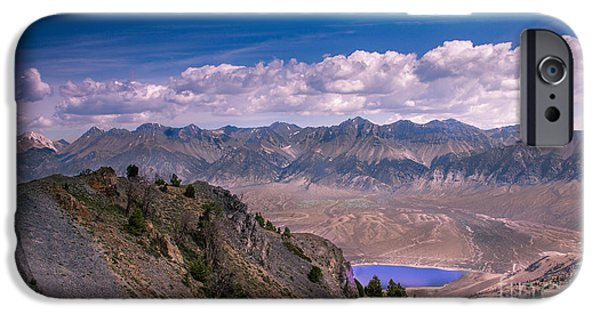 Meadow Photographs iPhone Cases - Lost River Range iPhone Case by Robert Bales