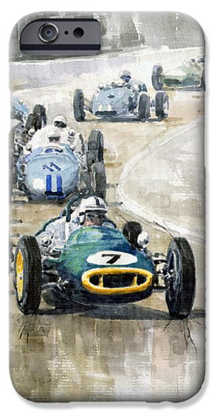 Lotus GP iPhone Case by Yuriy  Shevchuk