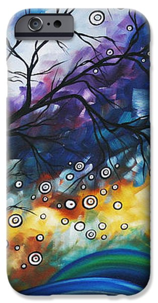 Love and Laughter by MADART iPhone Case by Megan Duncanson