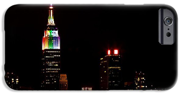 Empire State iPhone Cases - Love Is Love iPhone Case by Mingtaphotography