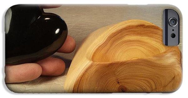 Original Sculptures iPhone Cases - Love Is  iPhone Case by Depasquale Sculptures