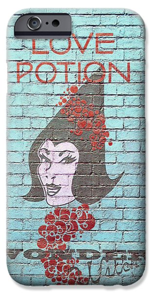 Board iPhone Cases - Love Potion iPhone Case by Laurie Perry