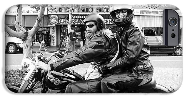 Chaps iPhone Cases - Lovin the Ride iPhone Case by Linda Lees
