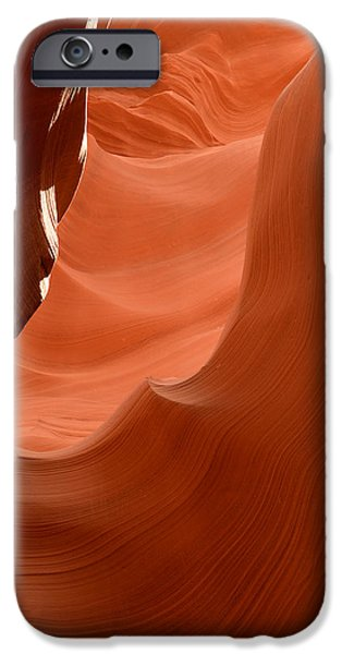 Slickrock iPhone Cases - Lower Antelope Canyon 6 iPhone Case by Craig Ratcliffe
