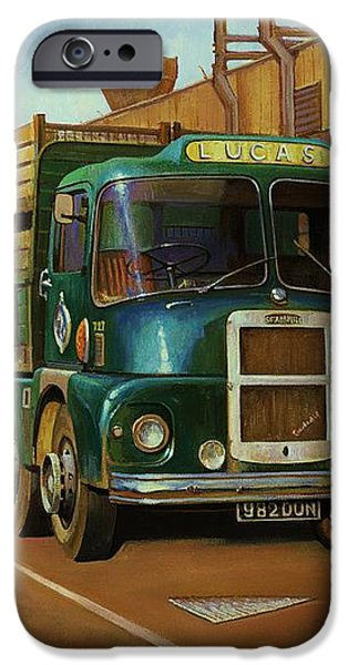 Lucas Scammell Routeman I iPhone Case by Mike  Jeffries