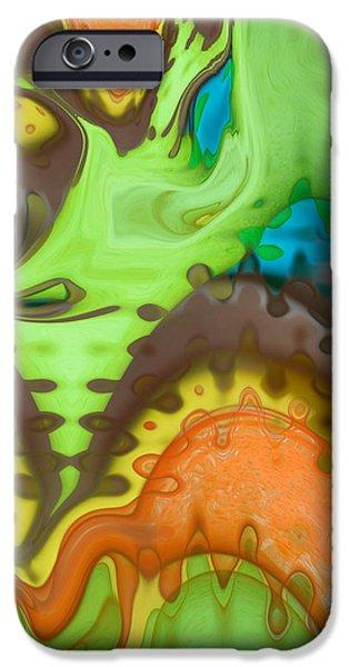 Lucid Dreaming iPhone Case by Linda Sannuti
