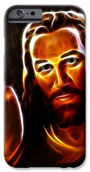 Lucifer This is For You iPhone Case by Pamela Johnson