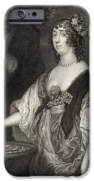 War iPhone Cases - Lucy Hay Nee Percy Countess Of iPhone Case by Ken Welsh