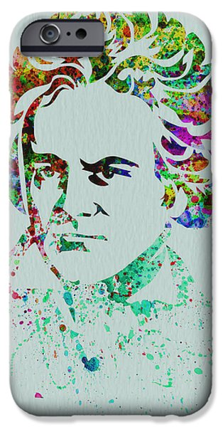 Classical iPhone Cases - Ludwig van Beethoven iPhone Case by Naxart Studio