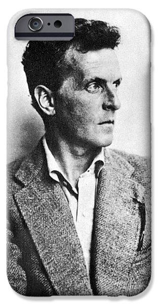 20th iPhone Cases - Ludwig Wittgenstein iPhone Case by Granger