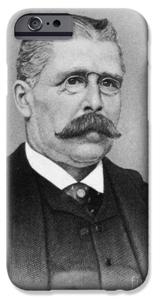Archaeologists iPhone Cases - LUIGI PALMA di CESNOLA (1832-1904) iPhone Case by Granger