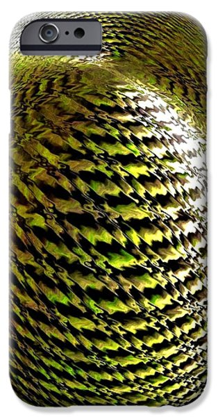 Will Power iPhone Cases - Luminous Energy 11 iPhone Case by Will Borden