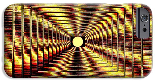 Will Power iPhone Cases - Luminous Energy 2 iPhone Case by Will Borden