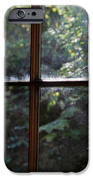 Cabin Window iPhone Cases - Lush Cabin View iPhone Case by MaJoR  Images