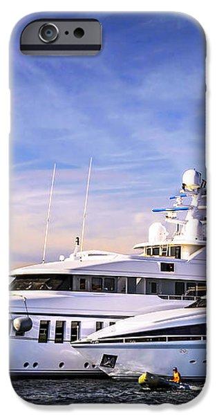 Luxury yachts iPhone Case by Elena Elisseeva