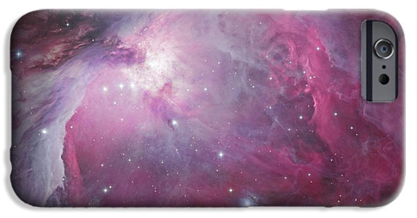 Constellations iPhone Cases - M42, The Orion Nebula iPhone Case by Robert Gendler