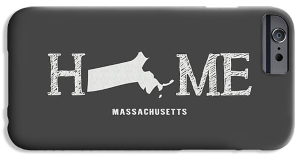 Boston Ma iPhone Cases - MA Home iPhone Case by Nancy Ingersoll