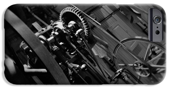 National Museum Of America History iPhone Cases - Machinery Industry iPhone Case by Kyle Hanson