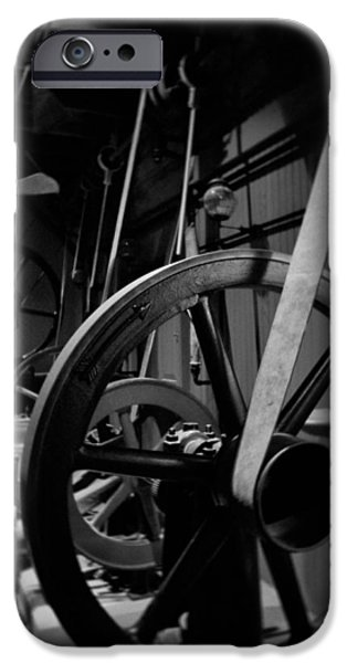 National Museum Of America History iPhone Cases - Machinery Industry Portrait iPhone Case by Kyle Hanson