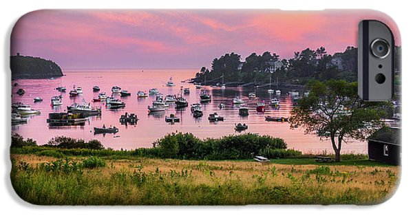 Bailey Island iPhone Cases - Mackerel Cove iPhone Case by Benjamin Williamson