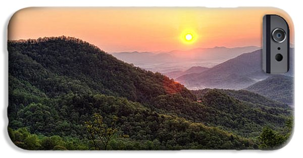Franklin iPhone Cases - Macon County North Carolina Mountains iPhone Case by Greg Mimbs