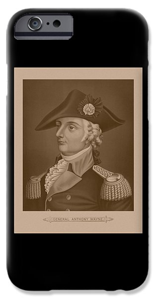 Mad iPhone Cases - Mad Anthony Wayne iPhone Case by War Is Hell Store