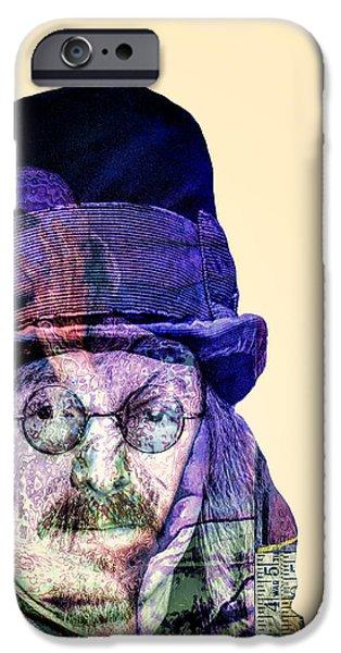 Mad Hatter iPhone Cases - Mad Hatter iPhone Case by Dominic Piperata