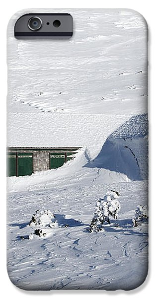 Madison Spring Hut- White Mountains New Hampshire iPhone Case by Erin Paul Donovan