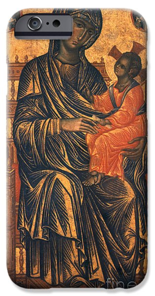 MADONNA ICON, 13th CENTURY iPhone Case by Granger
