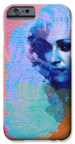 Madonna iPhone Case by Naxart Studio