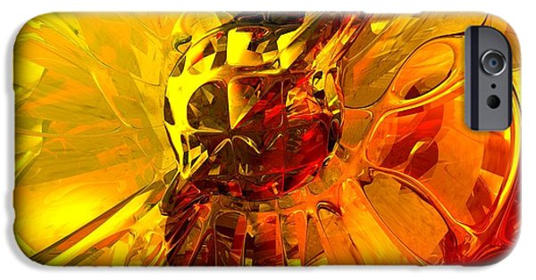 Abnormal iPhone Cases - Magic Honeycomb Abstract iPhone Case by Alexander Butler