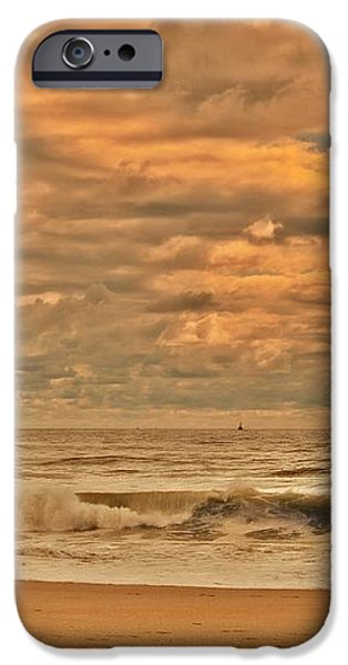 Magic In The Air - Jersey Shore iPhone Case by Angie Tirado