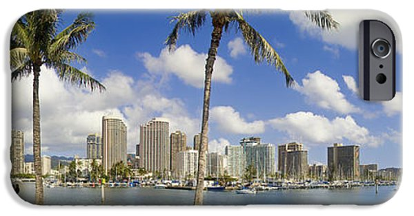 David iPhone Cases - Magic Waikiki iPhone Case by David Cornwell/First Light Pictures, Inc - Printscapes
