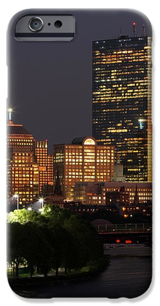 Charles River iPhone Cases - Magical Boston iPhone Case by Juergen Roth