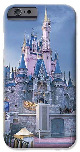 Magic Kingdom iPhone Cases - Magical moments iPhone Case by Ryan Crane