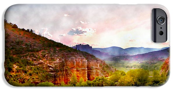 Sedona iPhone Cases - Magical Sedona iPhone Case by Ellen Heaverlo