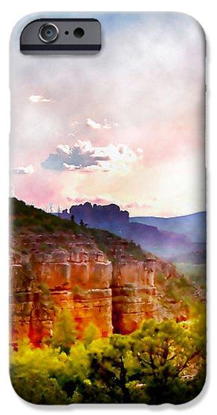 Magical Sedona iPhone Case by Ellen Heaverlo