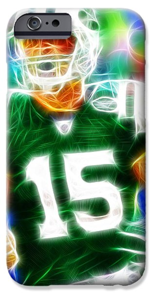 Tebow iPhone Cases - Magical Tim Tebow iPhone Case by Paul Van Scott
