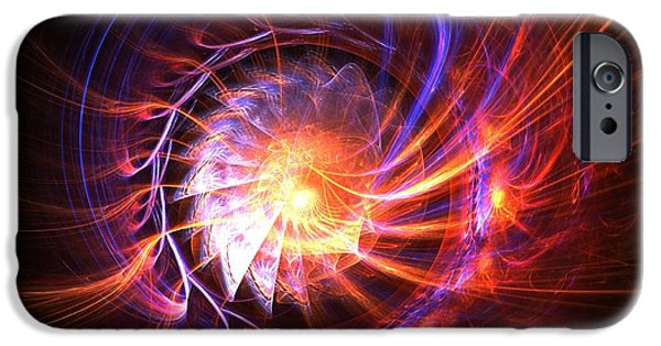 Business iPhone Cases - Magma Shell iPhone Case by Kim Sy Ok