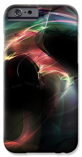 Magnetic Series No.10 iPhone Case by Michael C Geraghty